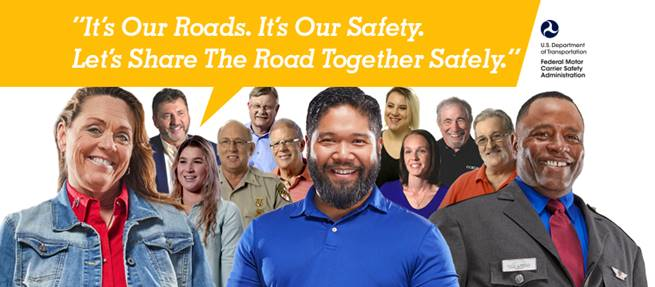 It's our roads, our safety